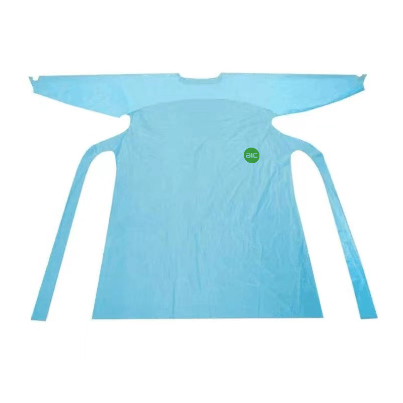 Waterproof isolation gown